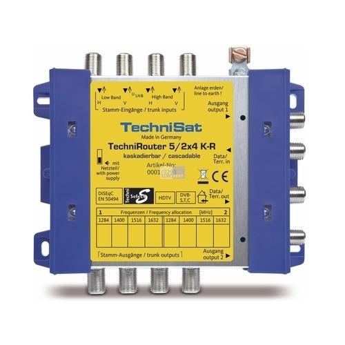 Klick zeigt Details von TechniRouter TechniSat 0001/3293 5/2x4 K-R