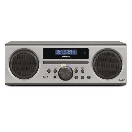 Digitalradio TechniSat 0001/3904 Digit CD BT silber