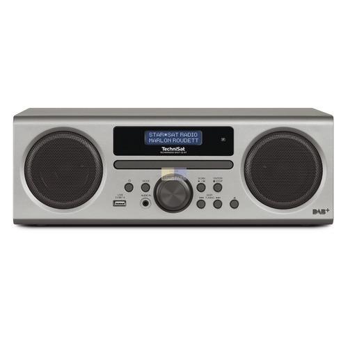 Klick zeigt Details von Digitalradio TechniSat 0001/3904 Digit CD BT silber
