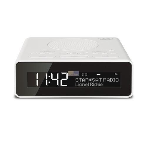 Klick zeigt Details von Uhrenradio TechniSat 0001/4981 DigitRadio 51 weiß