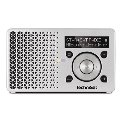 Digitalradio TechniSat 0002/4997 DigitRadio 1 silber