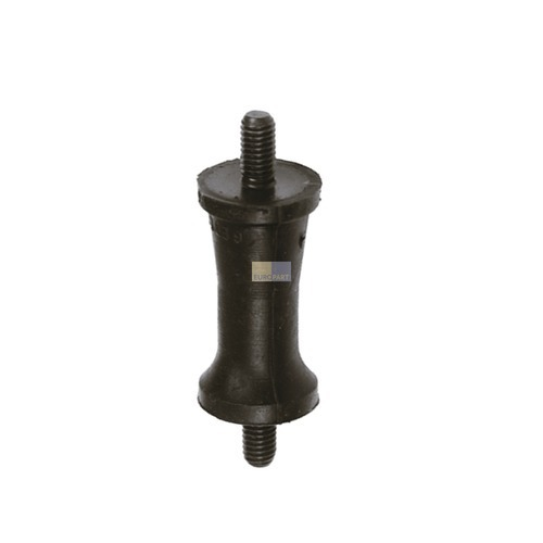 Klick zeigt Details von Gummiaufhänger für Schleuder AEG Zanussi Electrolux Privileg Zanker Quelle Thomas EBD Marijnen Zoppas