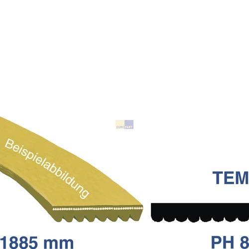 Klick zeigt Details von Keilrippenriemen 1885 PH 8 EL Ariston C00036195 Alternative