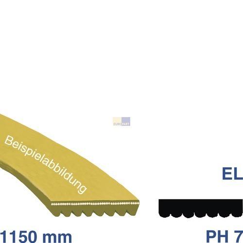 Klick zeigt Details von Keilrippenriemen 1150 PH 7 EL AEG 129077570/7 Alternative