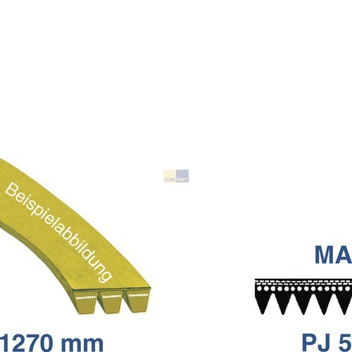 Riemen 1270 PJ 5 MA VG!