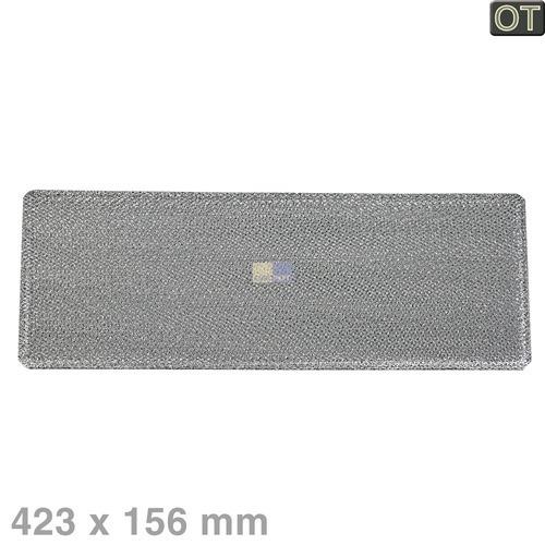 Klick zeigt Details von Fettfilter eckig Metall AEG