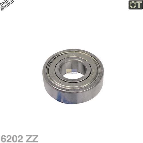 Klick zeigt Details von Kugellager 6202 ZZ Electrolux 5024682000/0