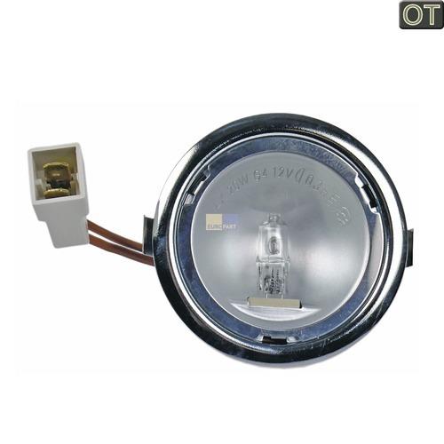 Klick zeigt Details von Dunstabzugshaube Lampe Halogenlampe G4 20W 12V kpl. mit Kabel