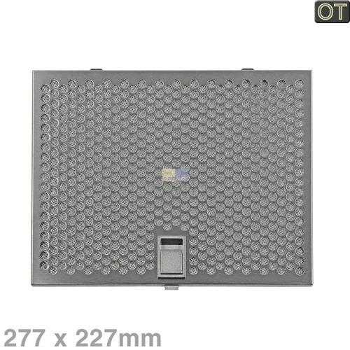 Klick zeigt Details von Fettfilter Metall