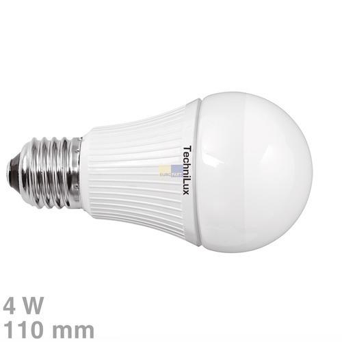 Klick zeigt Details von LED-Lampe E27 4W warmweiß matt