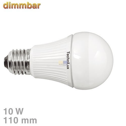 Klick zeigt Details von LED-Lampe E27 10W warmweiß dimmbar