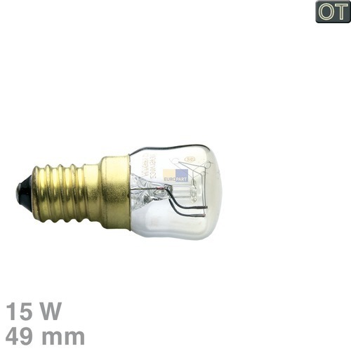 Klick zeigt Details von Lampe E14 15W 230/240V klein OT!