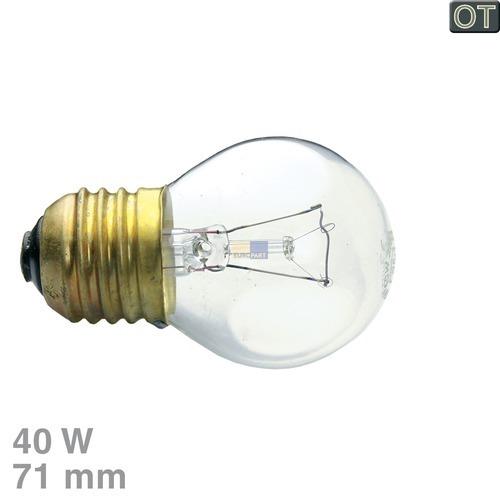 Klick zeigt Details von Glühlampe E27 40W 230V