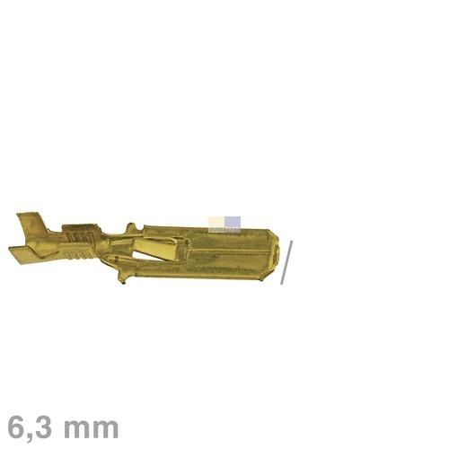 Klick zeigt Details von Flachstecker blank 6,3mm