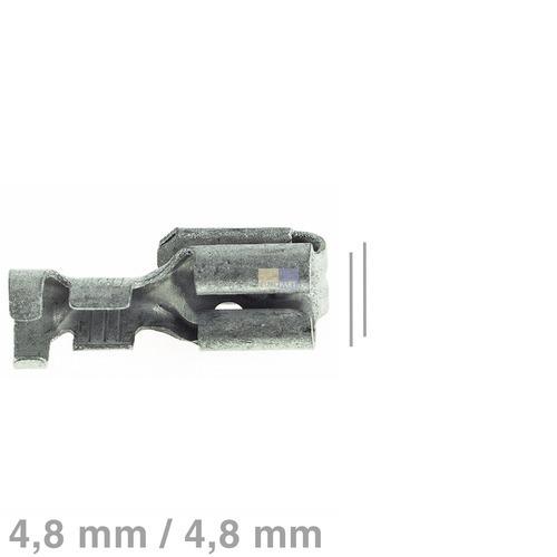 Klick zeigt Details von Doppelsteckhülse blank 4,8mm