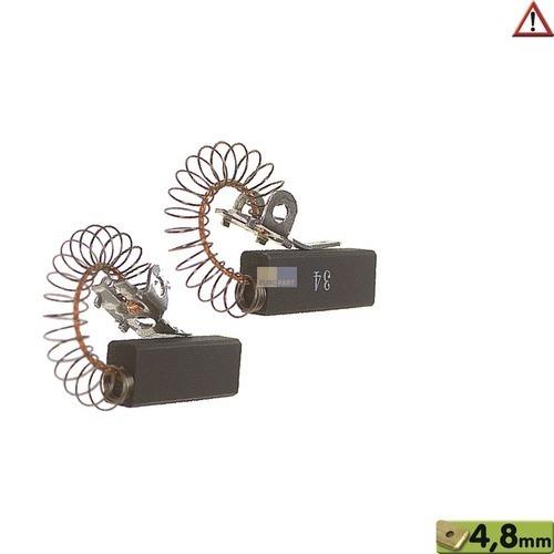 Klick zeigt Details von Kohlen 10x6,4x28mm 4,8mmAMP
