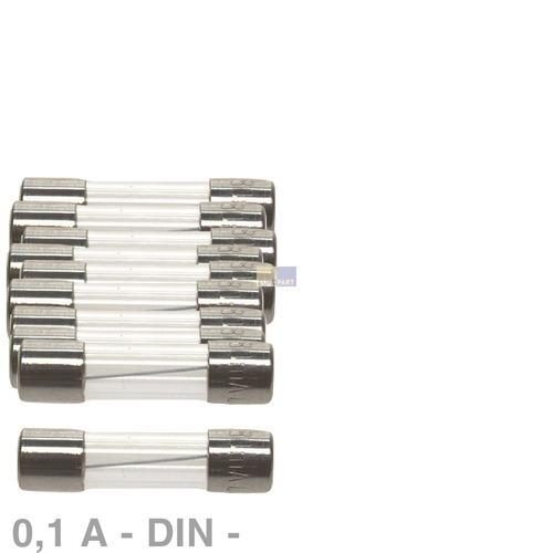 Klick zeigt Details von DIN-Sicherung 0,1A, 10 Stück