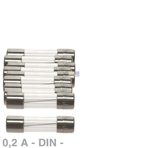 Klick zeigt Details von DIN-Sicherung 0,2A, 10 Stück