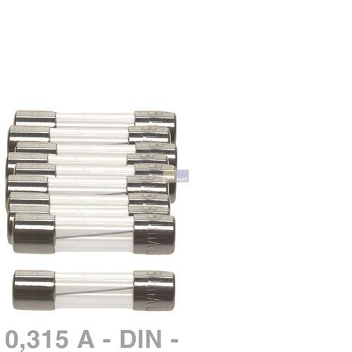 Klick zeigt Details von DIN-Sicherung 0,315A, 10 Stück Saeco