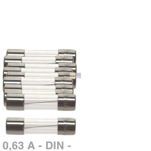 Klick zeigt Details von DIN-Sicherung 0,63A, 10 Stück