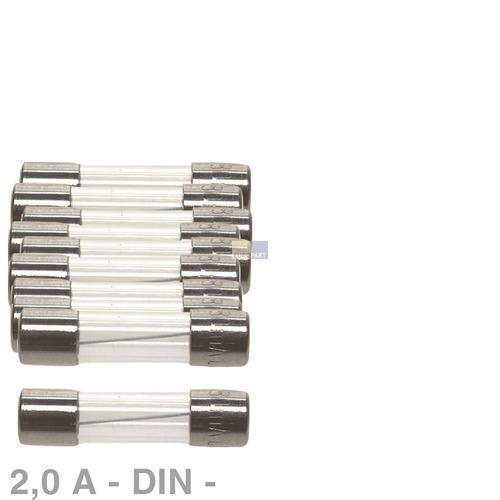 Klick zeigt Details von DIN-Sicherung 2,0A, 10 Stück