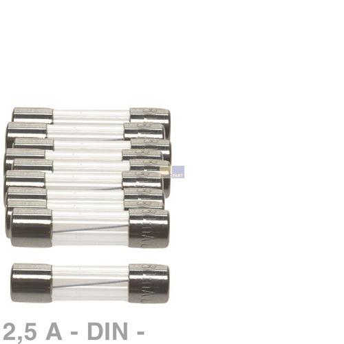 Klick zeigt Details von DIN-Sicherung 2,5A, 10 Stück