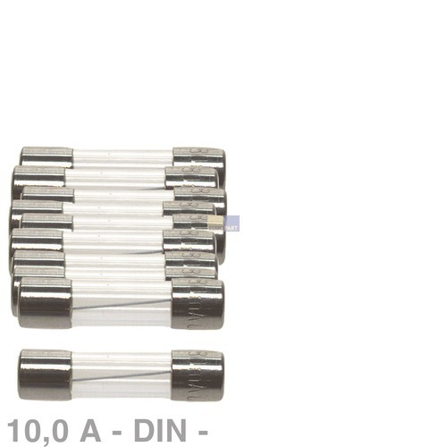 Klick zeigt Details von DIN-Sicherung 10,0A, 10 Stück