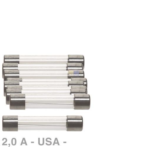 Klick zeigt Details von USA-Sicherung 2,0A, 10 Stück