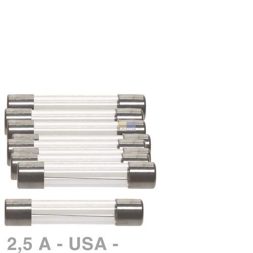 Klick zeigt Details von USA-Sicherung 2,5A, 10 Stück