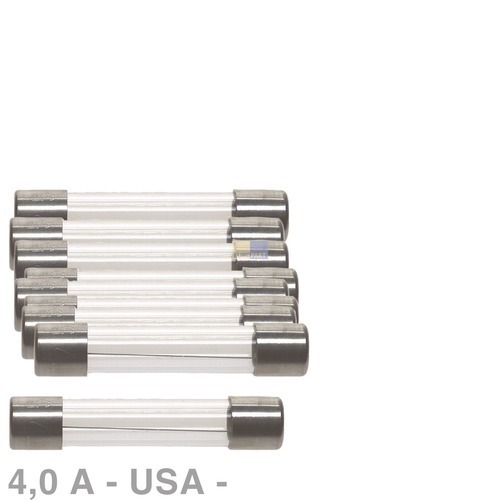 Klick zeigt Details von USA-Sicherung 4,0A, 10 Stück