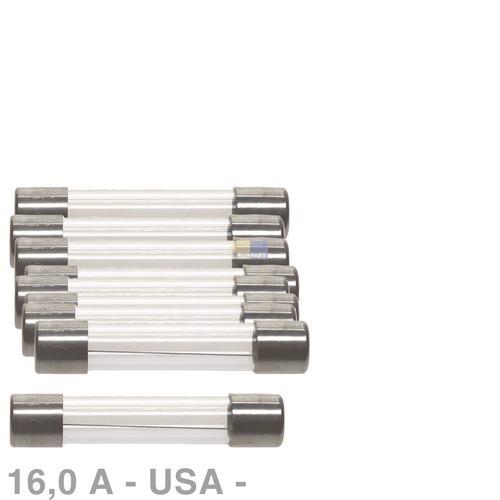 Klick zeigt Details von USA-Sicherung 16,0A, 10 Stück