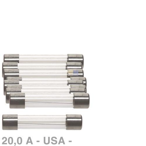 Klick zeigt Details von USA-Sicherung 20,0A, 10 Stück