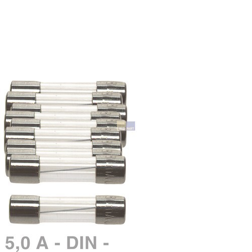 Klick zeigt Details von Sicherung DIN 5,0A, 10 Stück