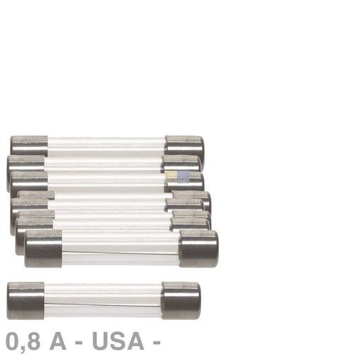 Klick zeigt Details von Sicherung USNorm träge 0,8A