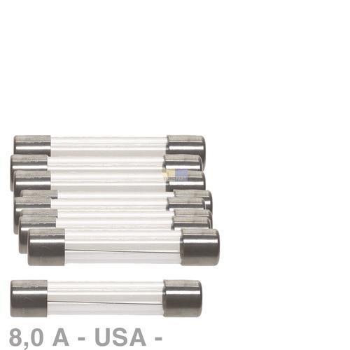 Klick zeigt Details von USA-Sicherung 8,0A, 10 Stück