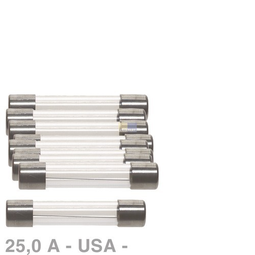 Klick zeigt Details von USA-Sicherung 25,0A, 10 Stück