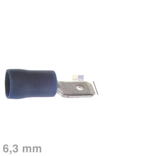 Klick zeigt Details von Flachstecker blau 6,3mm