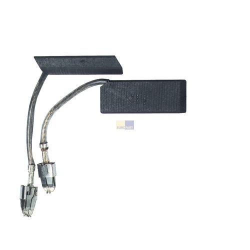 Klick zeigt Details von Kohlen 12,5x5x32,2mm Siemens Bosch Arcelik Hotpoint Krups