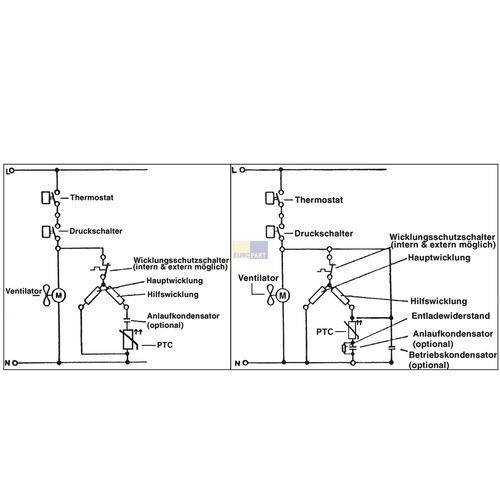 Anlassvorrichtung für Kompressor Kühlschrank 103N0021 151055 ...