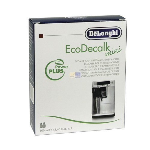 kaffeemaschinenentkalker delonghi 2x100ml wkfelectric. Black Bedroom Furniture Sets. Home Design Ideas