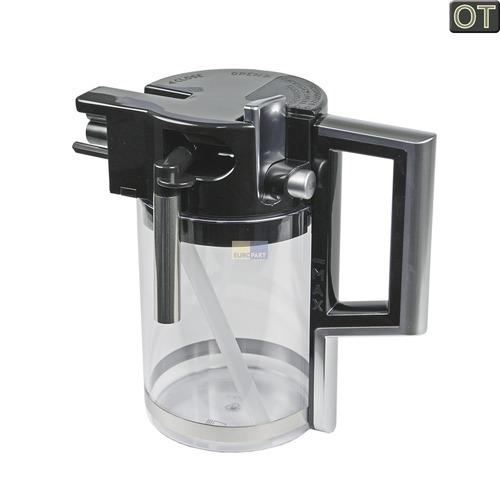 Klick zeigt Details von Milchbehälter komplett DeLonghi 5513211641 Original für Kaffeemaschine