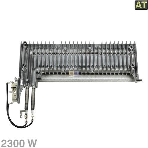 Klick zeigt Details von Heizelement 2300W 230V AT! Whirlpool 481231028307 Rippenheizung für Trockner