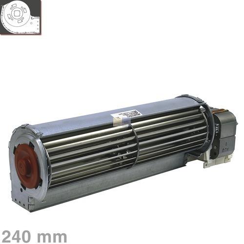Klick zeigt Details von Querstromlüfter 240mm TypA Motor rechts