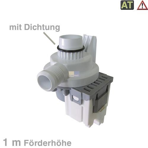 Klick zeigt Details von Ablaufpumpe (Magnet) mit Pumpenstutzen  1m Förderhöhe, ASCOLL 34W, wie AEG