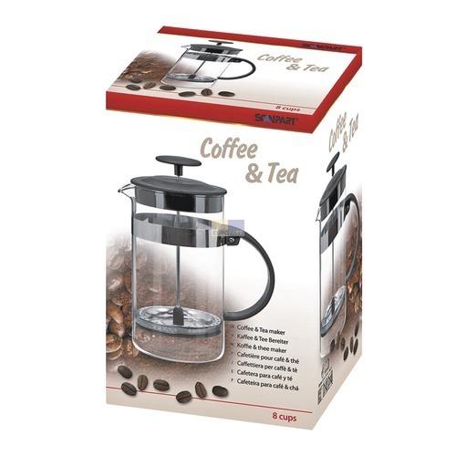 Klick zeigt Details von Kaffee- und Tee-Zubereiter für 8 Tassen