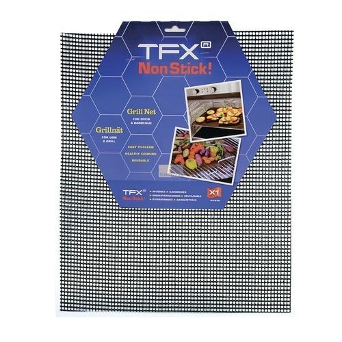 Klick zeigt Details von Grillnetz 420x360mm Grillmatte Antihaft Backmatte für Backofen Herd Grill
