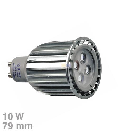 Klick zeigt Details von LED-Lampe GU10 10W tageslichtweiß 30°Abstrahlwinkel
