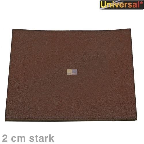 Klick zeigt Details von Schwingungsdämpfermatte 60x60cm extra standfest 2cm stark geruchsneutral