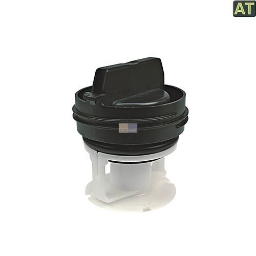 Klick zeigt Details von Flusensieb Sieb wie Bosch 00614351 614351 Waschmaschine Filter Flusenfalle Simen