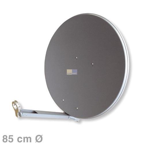 Klick zeigt Details von SAT-Antenne 85cm graphit,
